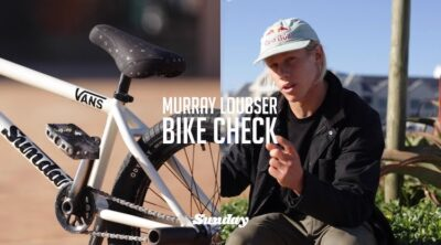 Sunday Bikes Murray Loubser Video Bike Check BMX