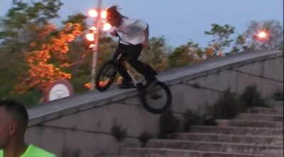 United BMX Miki Fleck Ride Fast Have Fun