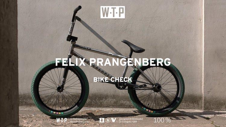 Wethepeople - Felix Prangenberg Video Bike Check