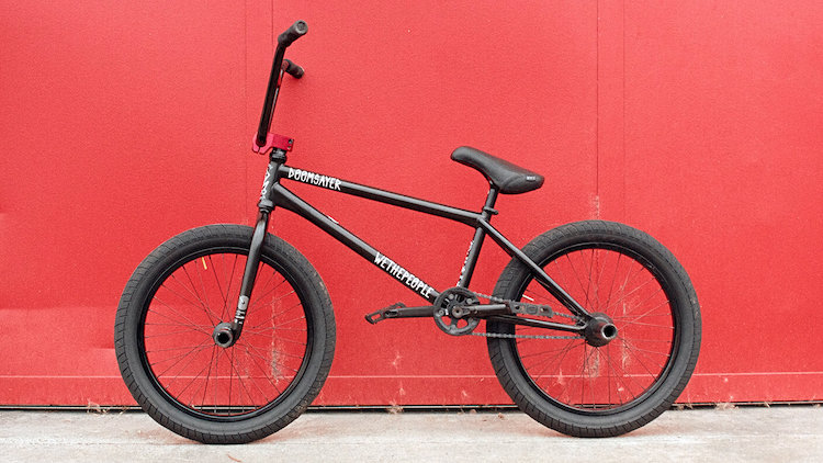 Wethepeople BMX Nico Van Loon Bike Check BMX