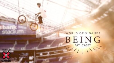 World of X Games Being Pat Casey BMX