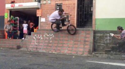 Zac Costa BMX video