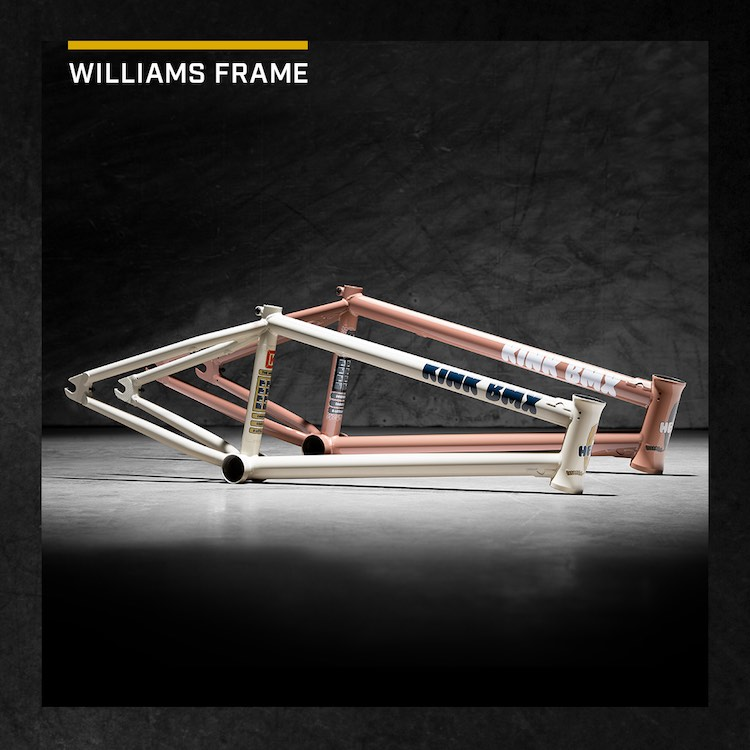 Kink BMX Williams Frame Colorways