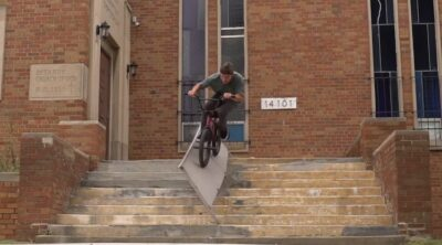 Dan Kruk Destroyer of Rails BMX video