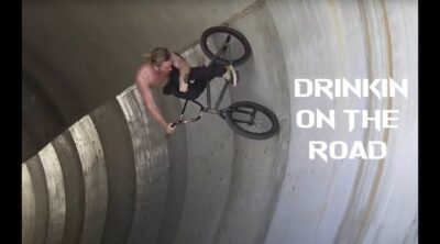 Drinkin On The Road BMX video