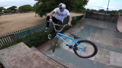 Mark Webb Welcome To The Dream BMX video