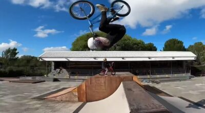 Mark Webb The Webbie Show 4 Warm Up BMX video