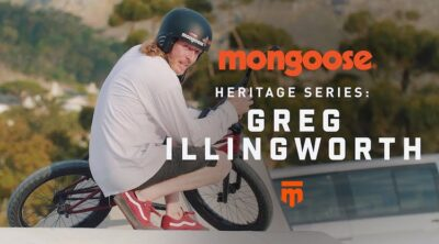 Mongoose BMX Heritage Series Greg Illingworth BMX