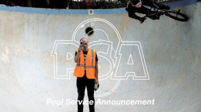 Pool Service Announcement BMX video