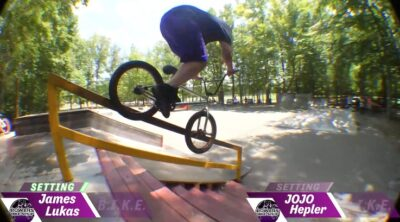 Powers BMX Game of BIKE 2020 James Lukas JoJo Hepler