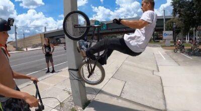 Streetlando Jam 4 BMX video