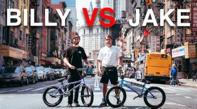 Billy Perry VS Jake Layton Game of BIKE NYC