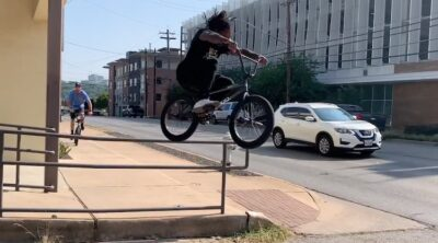 Brad Simms One Day In Austin Texas BMX