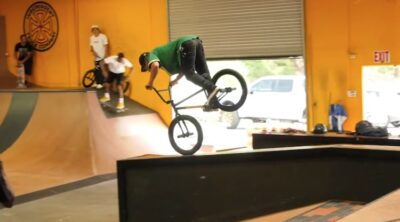 Chad Kerley Kevin Peraza Demarcus Paul Sandlot BMX Session Ryan Sheckler