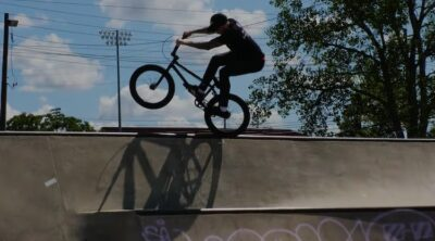 Chase Hawk Burn Slow BMX video