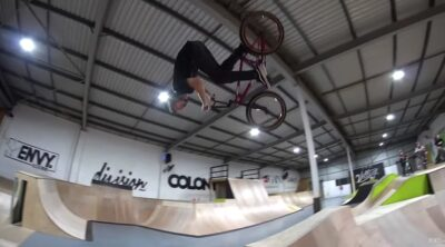Colony BMX Fire In The Village Skatepark Video