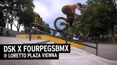 DSK Four Pegs BMX Loretto Plaza BMX video
