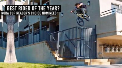 NORA Cup Reader's Choice Rider of the Year Award BMX
