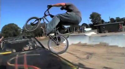 Rob Darden Josh Harrington BMX video