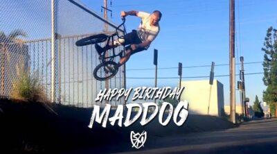 SM Bikes Chris Moeller maddog birthday bmx video