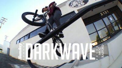 Sunday Bikes Broc Raiford Darkwave frame promo