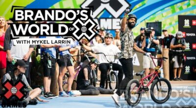 X Games Podcast Mykel Larrin BMX