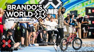 X Games Podcast Mykel Larrin BMX