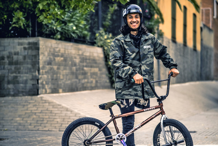 Julian Molina on GT BMX