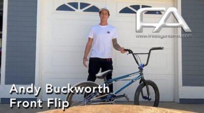 Andy Buckworth Video Bike Check BMX