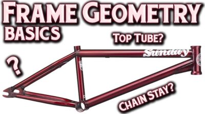 Basics of BMX Frame Geometry Explained