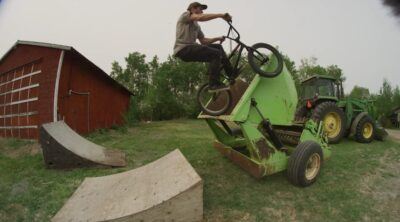 Brodie Gwilliam Bush League 5 BMX video