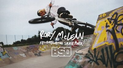 BSD BMX Rory Mclean Saughton Skatepark BMX video