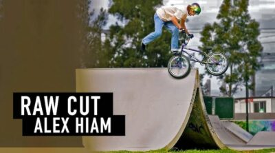 Colony BMX Alex Hiam Take A Ticket BMX Raw