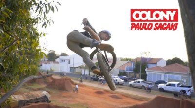 Colony BMX Paulo Sacaki 2020 BMX video