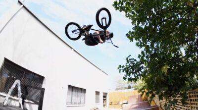 Josh Dove Lux BMX Backyard Ramp Session