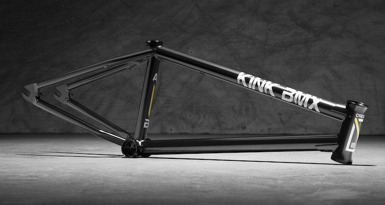 Kink BMX Crosscut Frame Black