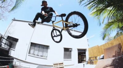 Lux BMX Alex Hiam Private Session BMX video