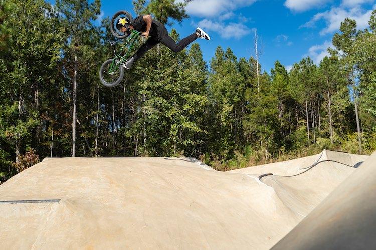 Mykel Larrin Mongoose BMX
