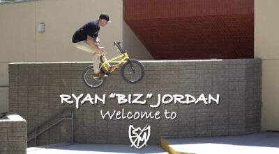 "Ryan ""Biz"" Jordan SM Bikes Welcome Video"