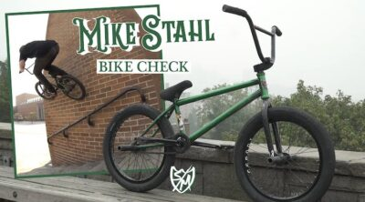 S&M Bikes Mike Stahl video bike check BMX