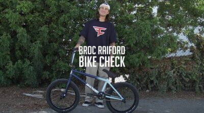 Sunday Bikes Broc Raiford video Bike Check BMX