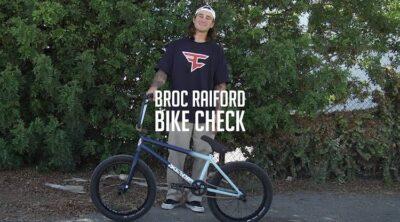 Sunday Bikes Broc Raiford video Bike Check BMX