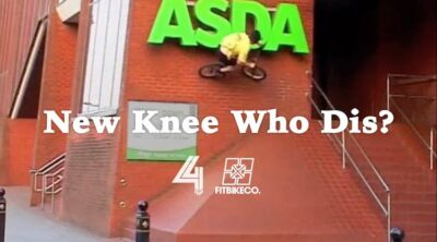 Tariq Haouche New Knee BMX video