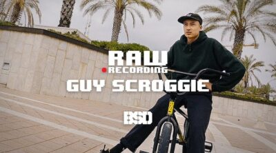 BSD BMX Guy Scroggie Recording Raw BMX video