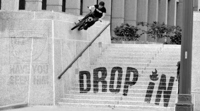 Drop In Neil Hise BMX video