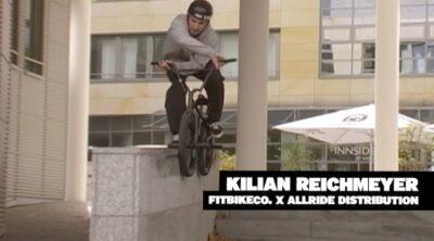 Fit Bike Co Kilian Reichmeyer BMX video