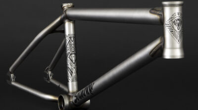 Flybikes Flat Raw Savanna 2 Frame Courage Adams