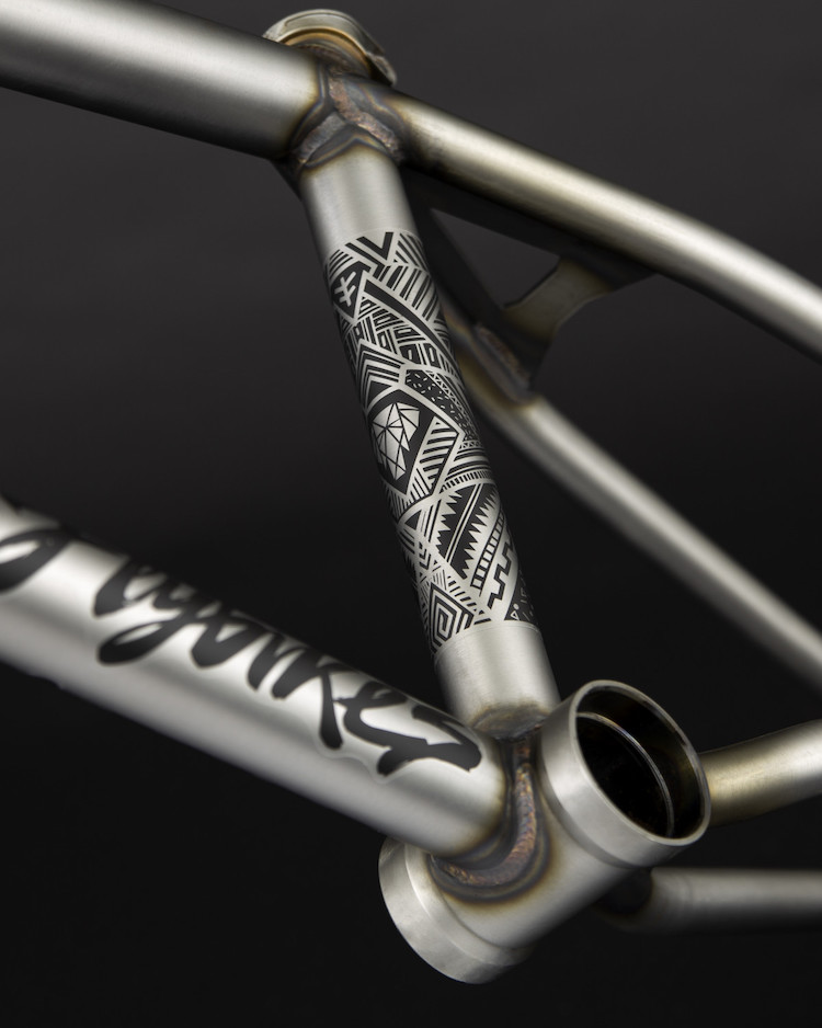 Courage Adams BMX frame