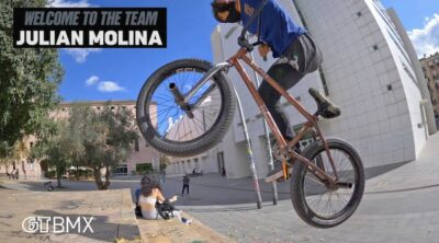 GT BMX Julian Molina Welcome Video