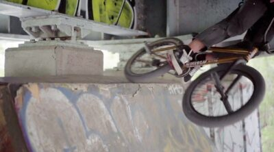 Kris Bunnage Skids United BMX video